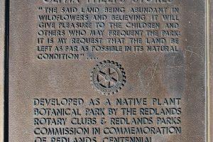 Caroline Park Plaque