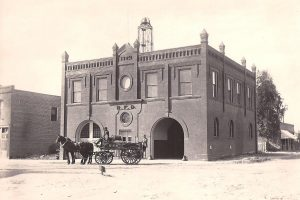Fire Dept. 1902 Building on Water and Fifth